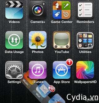 SwipeDock thêm không gian màn hình của bạn bằng cách ẩn Dock
