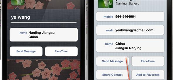 Homescreen Contacts đưa danh bạ yêu thích ra ngoài màn hình chính.