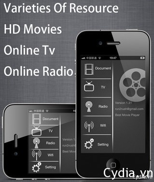 RushPlayer+ trình chơi video đỉnh nhất trên iOS