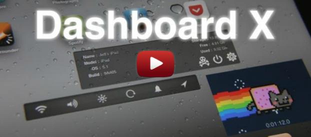 Dashboard X – đưa widgets ra Home Screen (SpringBoard)