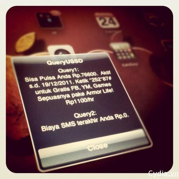 QueryUSSD – nạp tiền, kiểm tra tài khoản cho iPad 3G