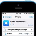Safari Downloader+: trình quản lý downloads mới cho Safari, hỗ trợ iOS 7