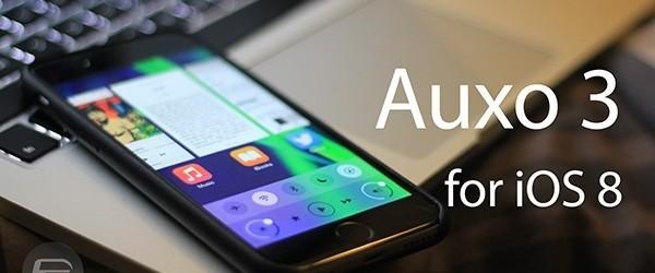 Auxo 3 (iOS 8) – hướng dẫn sử dụng