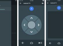 Android TV trên thiết bị iOS