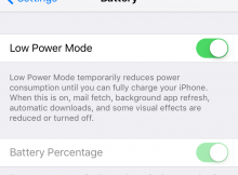 Low-Power-Mode