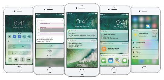widget hay dành cho iOS 10
